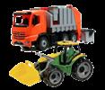 Auta, bagry, traktory