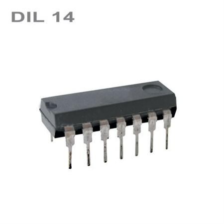 74HC02    DIL14   IO