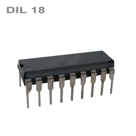 PIC16F84A-04/P  DIL18   IO