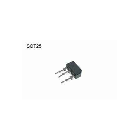 BC158  PNP 30V,0.2A,0.3W  SOT25   DOPRODEJ