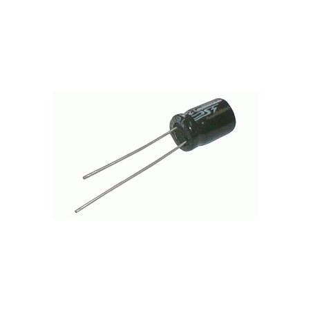 Kondenzátor elektrolytický   1M/400V 8x12-3.5   rad.C