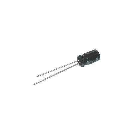 Kondenzátor elektrolytický  47M/50V 7x12-2.5  105*C  rad.C