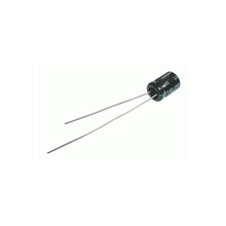 Kondenzátor elektrolytický NP   4M7/50V  7x12-2   Jam.NK DOPRODEJ