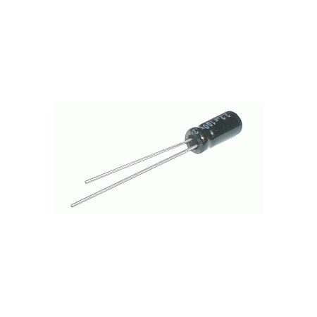 Kondenzátor elektrolytický   1M/63V 5x11-2.5  rad. C