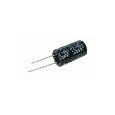Kondenzátor elektrolytický 100M/250V 16x30mm  rad.C