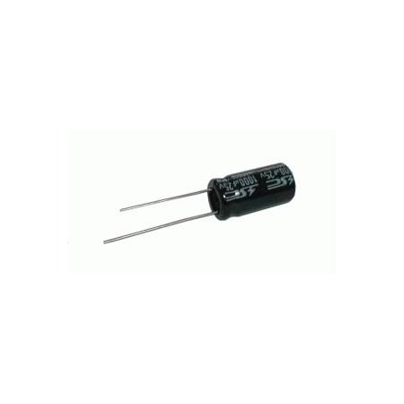 Kondenzátor elektrolytický   2G2/16V 10x20  105*C  rad.C