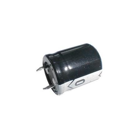 Kondenzátor elektrolytický  47M/400V 22x25-10   rad.C  SNAP-IN