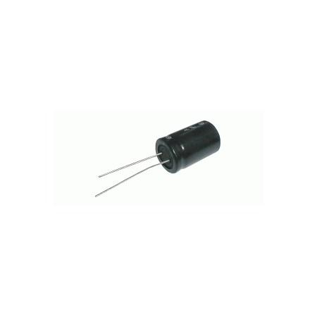 Kondenzátor elektrolytický   3G3/25V 16x25-7.5  105*C   rad.C