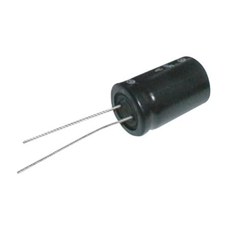 Kondenzátor elektrolytický   3G3/16V   15x25   105°  rad.C