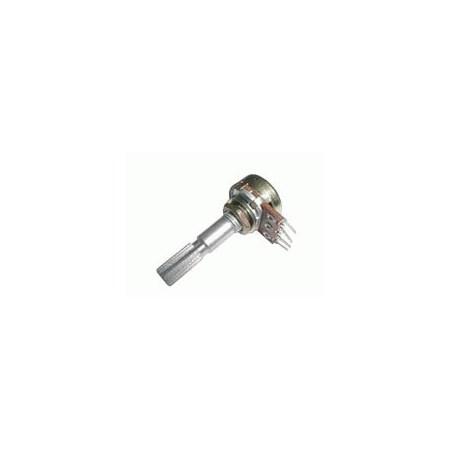 Potenciometr   1M/N  mono  6/30mm