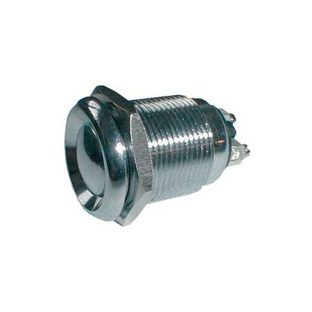 Přepínač tlačítko kul. OFF-(ON) kov-typ3 (12V)