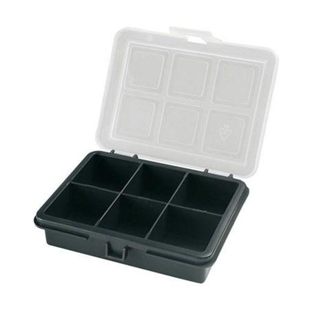 Krabička na součástky 120x100x28mm 6 sekcí