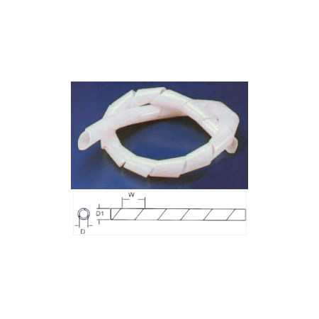 Bužírka spirálová 10-70mm