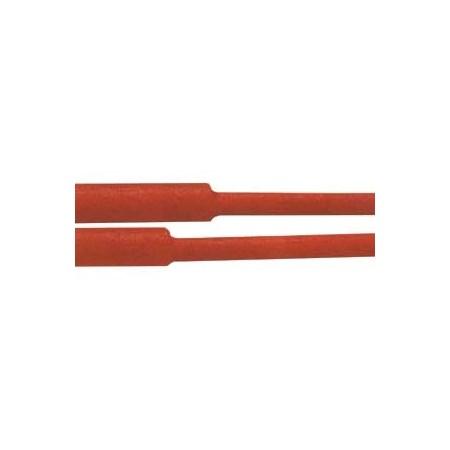 Bužírka smršťovací -  10.0 / 5.00mm červená
