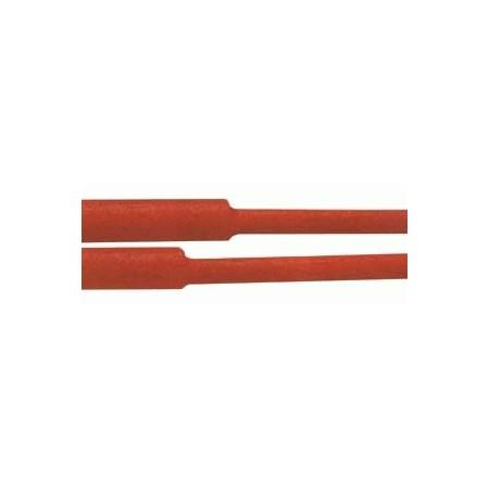 Bužírka smršťovací -  30.0 / 15.0mm červená
