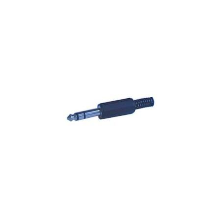 Konektor Jack 6.3 stereo  plast.