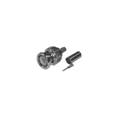 Konektor BNC crimp 7mm (RG 6)