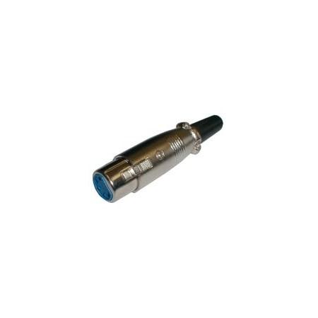 Zdířka MIC kabel kov  5PIN