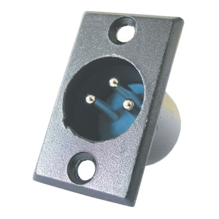 Konektor MIC panel kov  3PIN black