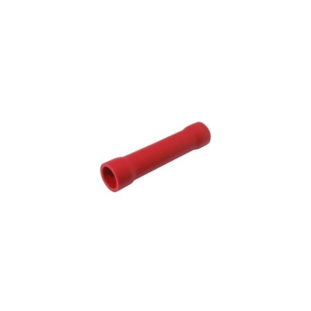 Spojka kruhová 0.5-1.5mm(AWG22-16)  červená