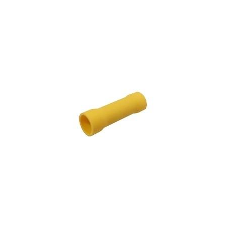 Spojka kruhová 4.0-6.0mm(AWG12-10)  žlutá