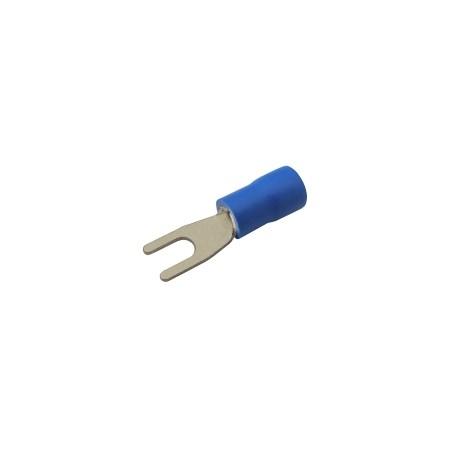 Vidlička 3.2mm, vodič 1.5-2.5mm  modrá