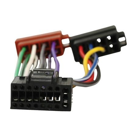 ISO kabel pro autorádio Kenwood 16pin