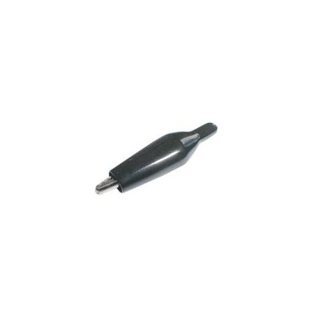 Krokosvorka  malá s bužírkou černá L=40mm