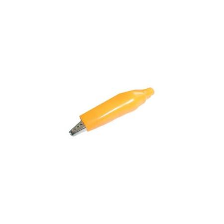Krokosvorka  malá s bužírkou žlutá L=40mm