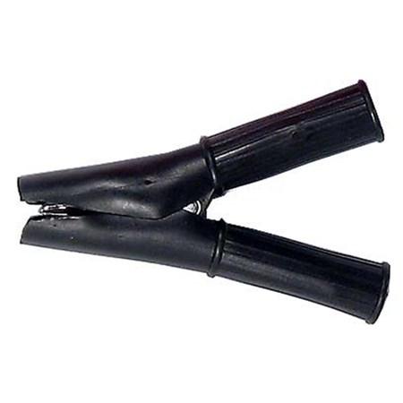 Svorka  50A izolovaná černá 188mm