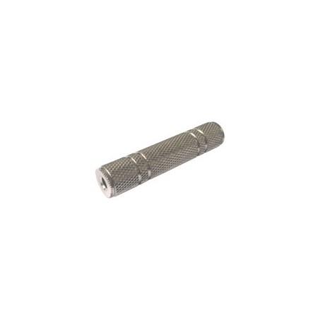 Spojka zdířka 3.5 stereo kabel kov