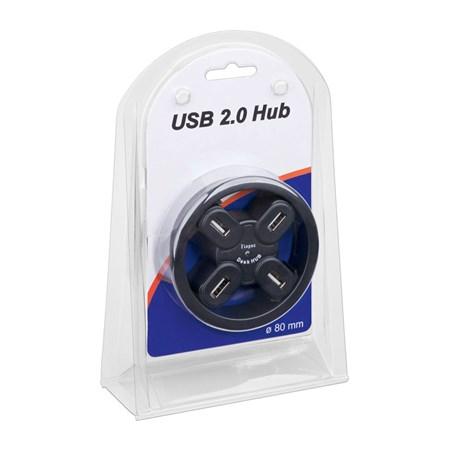 Redukce USB hub 4 porty, k zapuštění do desky pracovního stolu