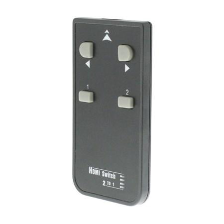 Přepínač 2x HDMI vstup - 1x HDMI výstup KÖNIG KNVSW3412