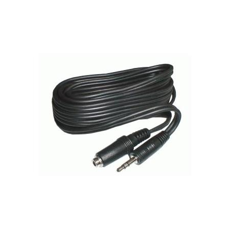 Kabel Jack 3.5 stereo - zásuvka Jack 3.5 stereo  3m