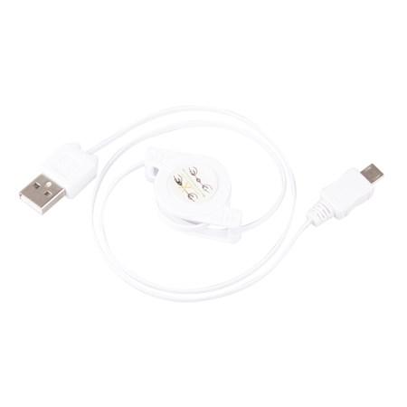 Kabel USB 2.0 A/M - micro B/M 0,8m
