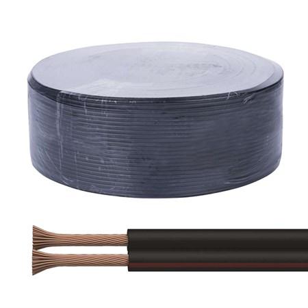 Dvojlinka ECO 2x0,5mm, černo/rudá