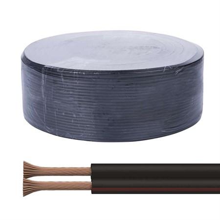 Dvojlinka ECO 2x0,75mm, černo/rudá