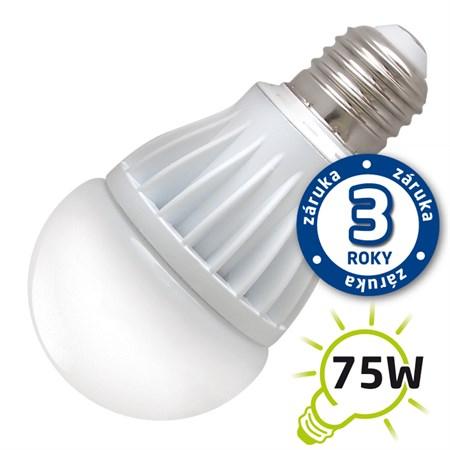 Žárovka LED A60 E27 12W bílá teplá (Al) TIPA