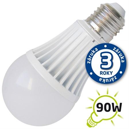 Žárovka LED A60 E27 15W bílá teplá (Al) TIPA