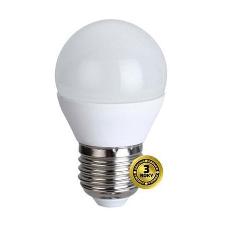 Žárovka LED G45 E27 6W bílá teplá SOLIGHT