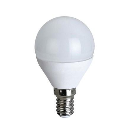 Žárovka LED G45 E14 6W bílá přírodní SOLIGHT