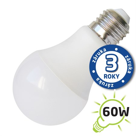 Žárovka LED A60 E27 10W bílá teplá (Pc) TIPA