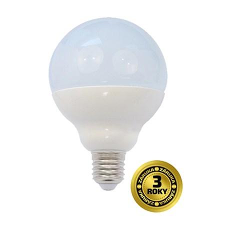 Žárovka G90 E27 18W bílá teplá SOLIGHT