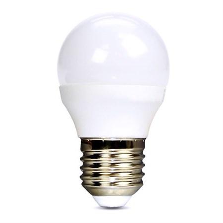 Žárovka LED G45 E27 6W bílá přírodní SOLIGHT
