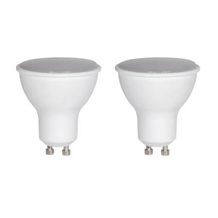 Žárovka LED SPOT GU10 5W bílá teplá duopack RETLUX