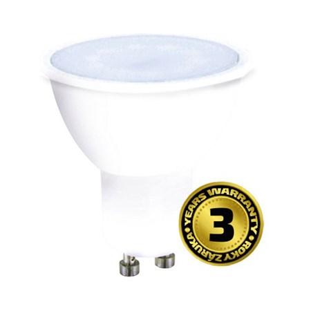 Žárovka LED SPOT GU10 3W bílá teplá SOLIGHT WZ314A
