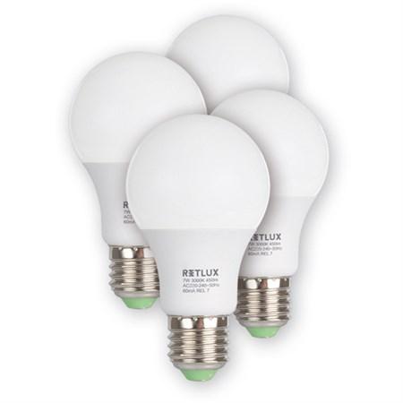 REL 17 LED A60 4x7W E27 RETLUX