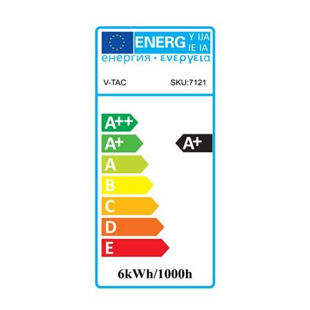 Žárovka LED A60 E27 6W RGB+teplá bílá