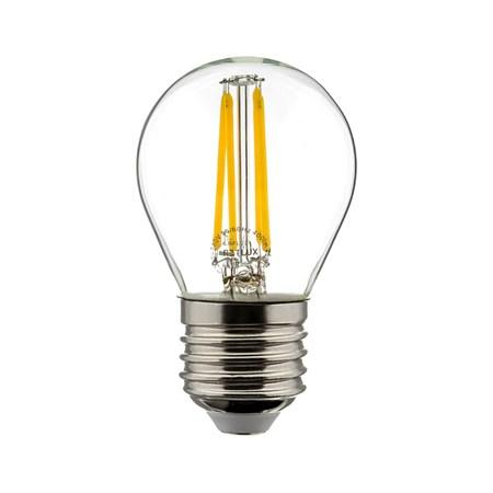 Žárovka LED miniG E27 4W RETLUX RFL 221 teplá bílá, filament