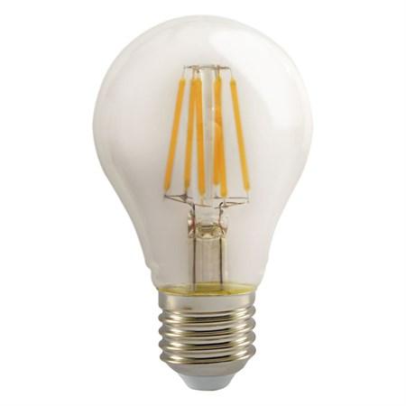 Žárovka LED A60 E27 6W RETLUX RFL 219 teplá bílá, filament